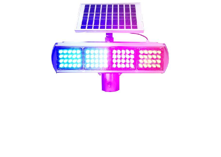 谈一谈太阳能爆闪灯与其它信息类发光设施的技术差别