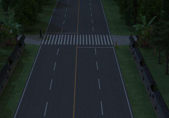 非灯控人行过街横道的安全隐患及处理方式